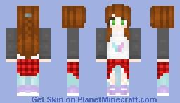 Casual plaid Minecraft Skin