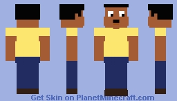 Cleveland Brown Minecraft Skin