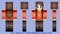 Cute Teen (Alt.) Minecraft Skin
