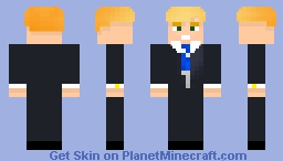 Donald Trump [1.8+] Minecraft Skin