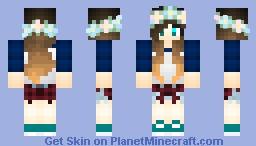 Dire in her Final form Minecraft Skin