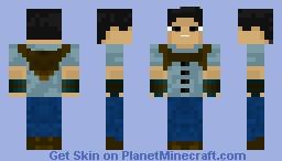 Minho - The Maze Runner Minecraft Skin