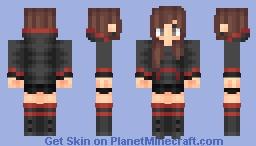 Grizzly (Female Version) Minecraft Skin