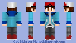 Hilbert - Pokemon Black Minecraft Skin
