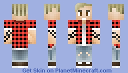 Justin Bieber 2015 (Looks BETTER in Preview) Minecraft Skin