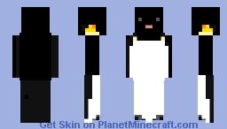 Emperor penguin Minecraft Skin