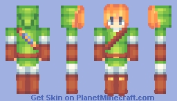Guess Who Made The World's Awkwardest Link Minecraft Skin