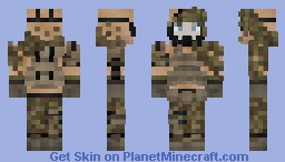 Survivalist (Contest) Minecraft Skin