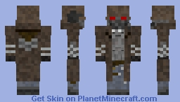 Fallout New Vegas Ranger Armor Requested By Cam663 Minecraft Skin