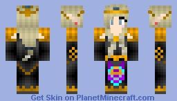 Dark Zelda *Gaming Series* Minecraft Skin