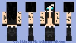 Andy Biersack ♢ Minecraft Skin