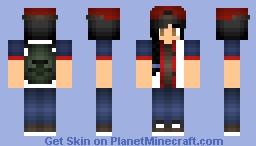 Glenn Girl (The Walking Dead) Minecraft Skin