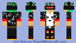 The ghastly miners skin