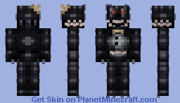 FNaF 4 Nightmare (Remastered) (Looks better in-game!) Minecraft Skin