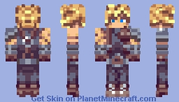 Final Fantasy 7 - Cloud Strife (WSC) Minecraft