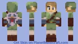 Legend of Zelda: Twilight Princess - Link Minecraft Skin