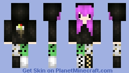 Chibi Ice Cream Girl *Gourmet Series* Minecraft Skin