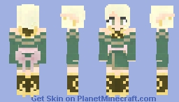 elf girl Minecraft Skin