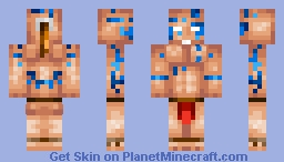 Tribal Warrior Minecraft Skin