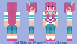 GIFfany Gravity Falls Minecraft Skin