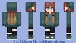 ραsτεl | Old Oc: Skyler O'Mally | RESHADE Minecraft Skin