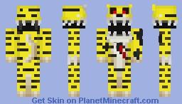 { FNaS 4 } Nightmare Goldy Minecraft Skin