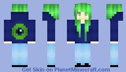 Jacksepticeye Fangirl Minecraft Skin