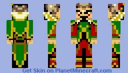The Skin of Kefka (first skin redone) Minecraft Skin