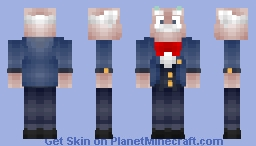 Ratchet And Clank 2: Going Commando - Mr. Abercrombie Fizzwidget Minecraft Skin