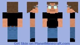 Gabe Newell Minecraft Skin