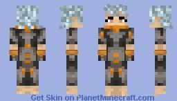 Test Subject Minecraft Skin