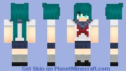 Saki Miu Yandere Simulator Collection Minecraft Skin - Skins para minecraft de yandere