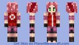 Sakura Haruno Minecraft