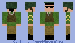 American WW2 Soldier Minecraft