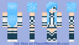 Asuna Yuuki Alo (sword art online) Minecraft Skin