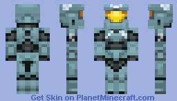 Fred 0104 Halo Legends Minecraft Skin