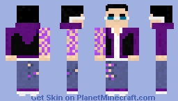 Johnny Gat  - Saints Row Gat out of hell Minecraft Skin