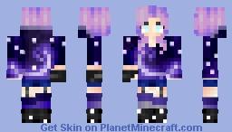 Galaxy damsel ~ Fawkesy's Contest ~ ♥кเttץ г๏รเє♥ Minecraft Skin