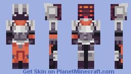 PROJECT: Yi Minecraft Skin
