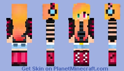 "My ""Pinkyblack"" as Alex [FIXED] Minecraft Skin"