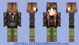 """☆ ᒪᙓIᗩ_ ☆  """"May the odds be ever in your favour."""" Minecraft Skin"""