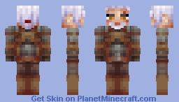 Geralt of Rivia Minecraft Skin