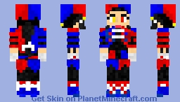 """JesterSolstice8"" (Female) Minecraft Skin"