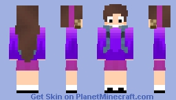 Camper Mabel Pines Minecraft Skin