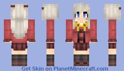 Nao Tomori【Charlotte】 Minecraft Skin