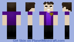 Purple Guy Minecraft Skin