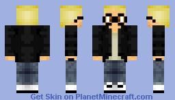 Tsukki Minecraft Skin