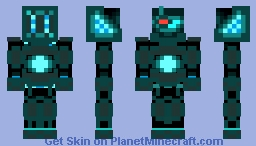 Custom battle suit Minecraft Skin