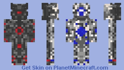 Two Sided Bot Minecraft Skin