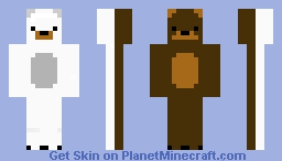 Two Bear Minecraft Skin